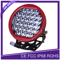 Red shell color160W motorcycle led driving lights