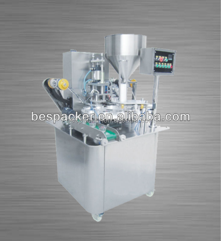 XBG-900I cup filling and sealing machine for skin softer
