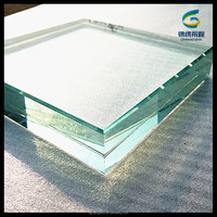 19mm extra clear laminated glass film PVB/SGP interlayer with high quality