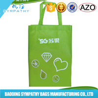 Fresh eco-friendly PP non woven bags nonwoven shopper tote bags women