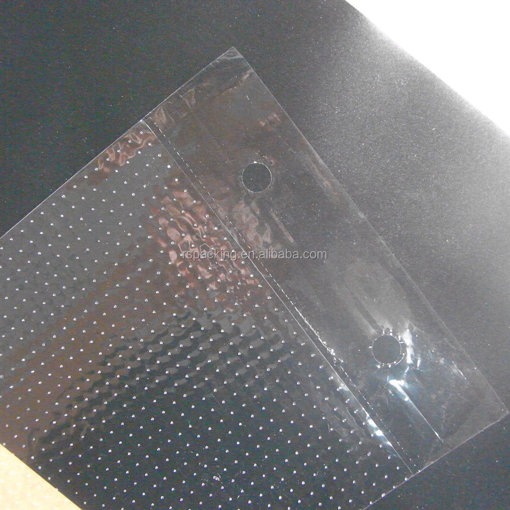 packing plastic clear micro perforated pags
