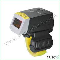 2014 new Finger Barcode Scanner 1D Bluetooth Wearable Ring-style Mini Portable Finger Barcode Scanner Barcode Reader UL-FS01
