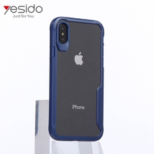 Hot selling mobile phone accessories for i phone x case plastic matte black new for i phone x case shock proof clear