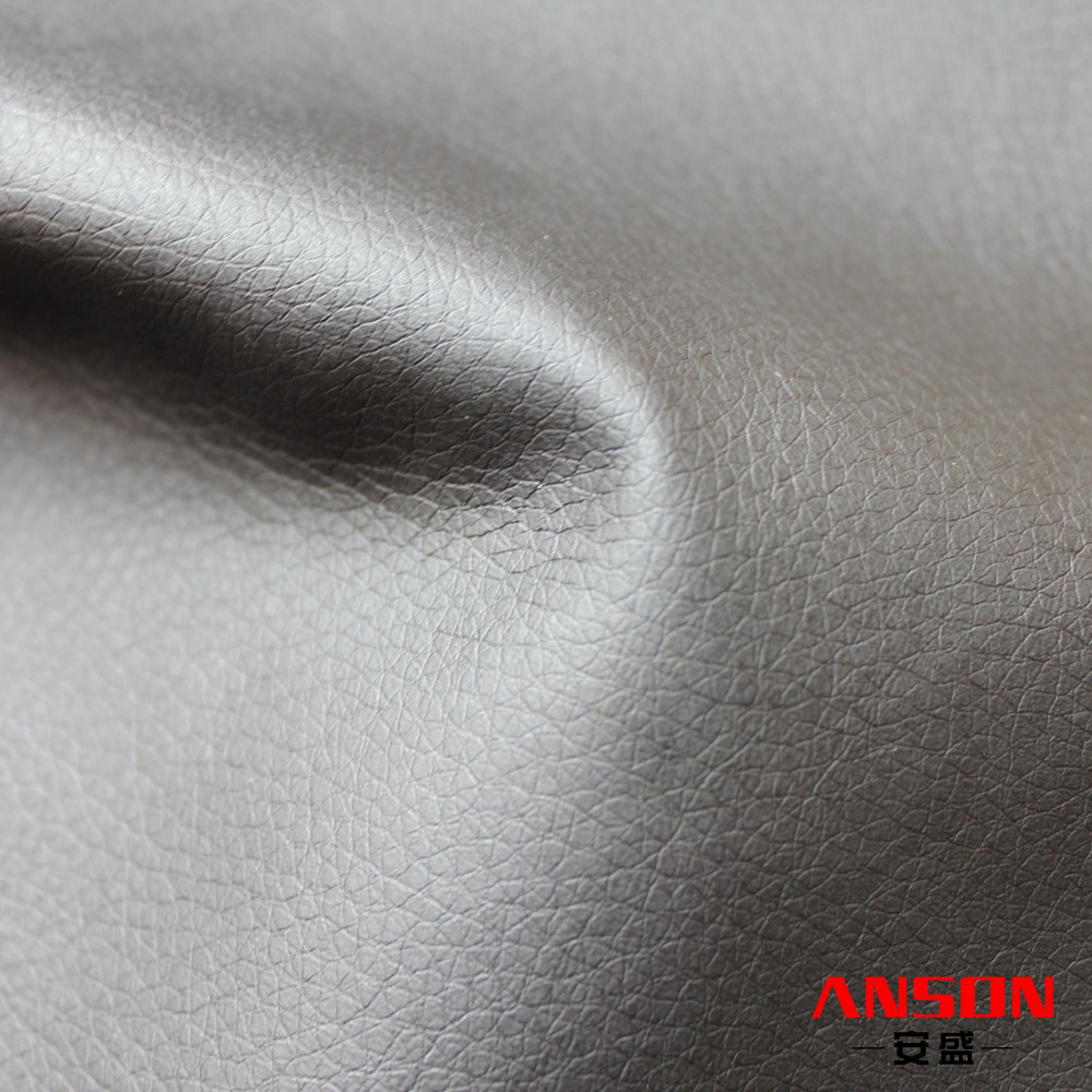 Litchi grain pu synthetic leather
