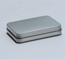 R1886H tinplate sliver Gift Metal Tin Box Wholesale