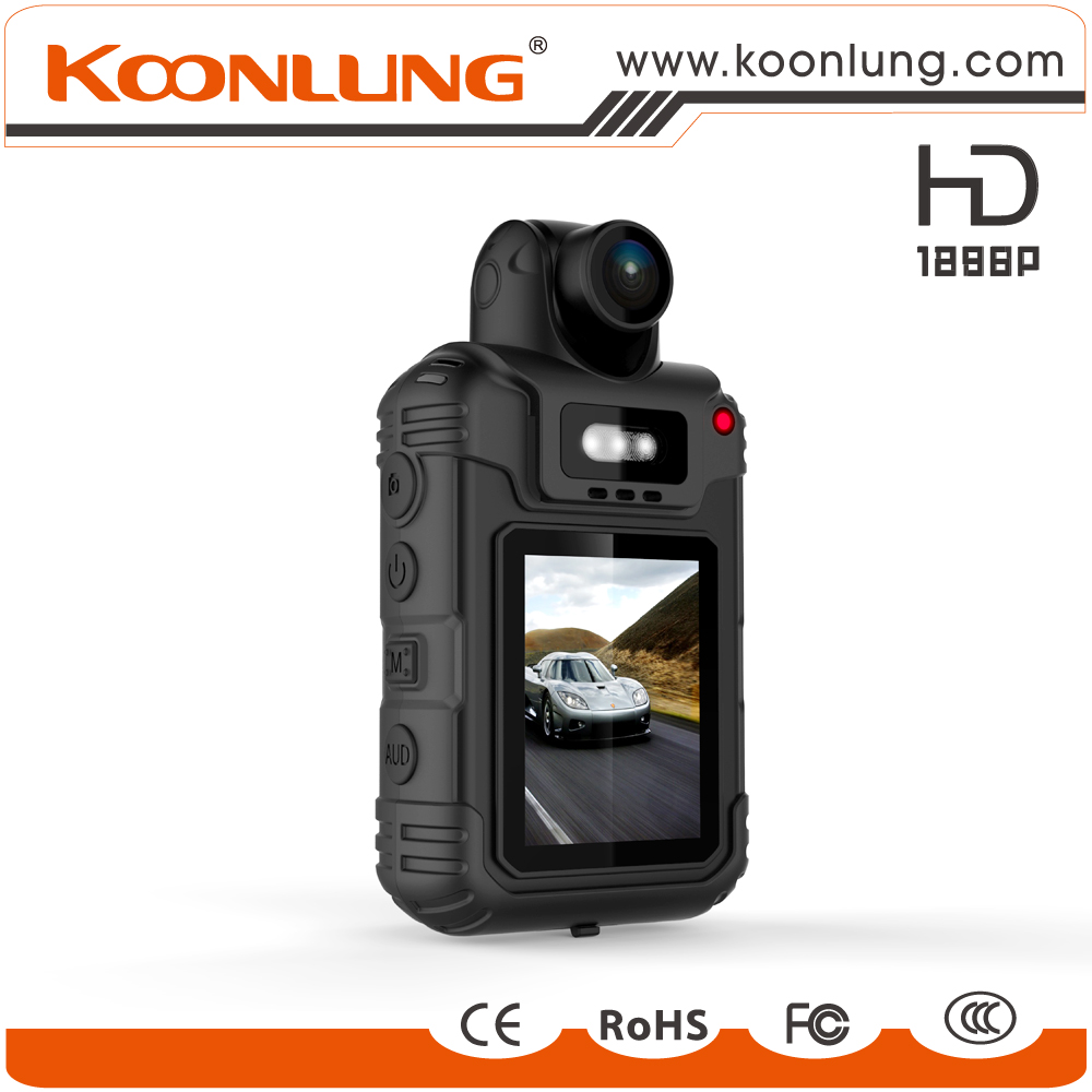 Body worn wearable Law enforcement camera with 1080P full hd resolution