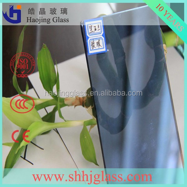 Hot Sales 3-12mm 5mm light green reflective glass,tinted building glass with CE etc certificate