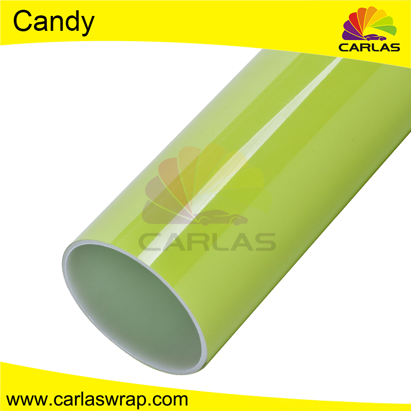 Carlas chrome car body side car vinyl wrap machine