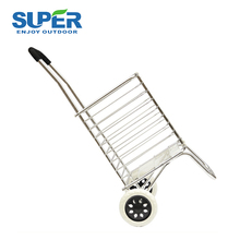 Portable Wheel Handle Grocery Folding Shopping Trolley Cart