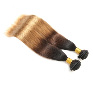 chison hair human hair weave bundles with closure top quality hair