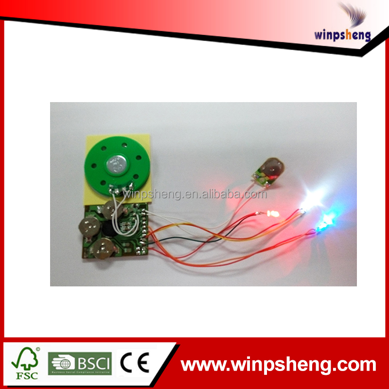Led Light Module Ic Music Chip For Greeting Cards