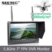 "7"" wireless transmitter and receiver monitor for wireless remote controler for parking system PVR733"