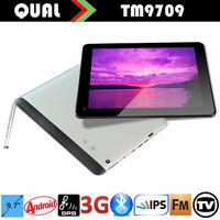9.7 inch MTK8382 Quad Core Bluetooth 4.0 digitizer tablet GPS Display 3g calling with Quad Core Bluetooth Full function tablet