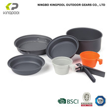 perfect for hiking trekking backpacking outdoor decorative cookware set