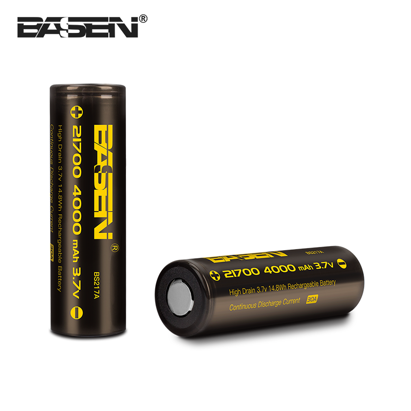 High Energy Density Rechargeable 3.6V 3.7v 26650 20700 21700 Li-Ion Battery for Electric Vehicles