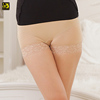 Hot Women High Waist Tummy Control Lace Safty Panties Body Shaper Briefs