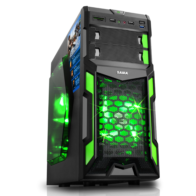 pc desktop industrial micro atx computer case gaming