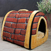 Processing customized stylish design four seasons roud-domed deluxe dog house