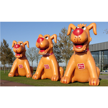Inflatable Dog Cartoon For Advertising