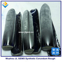 A grade synthetic blue sapphire rough 34# suppliers