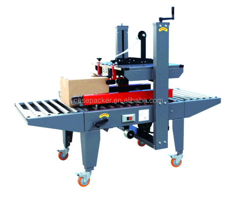 Semi-automatic Left and Right Carton Sealing Machine