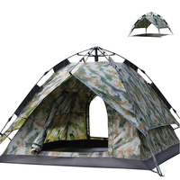 China Supply Oxford Silvering Automatic Camping Tent