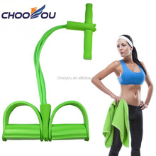 Workout Body Fitness Exerciser Pull Up Pedal Resistance Bands