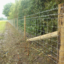 High tensile cheap cattle field fence panel for livestocks fencing