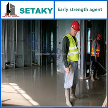 high performance early strength agent for cement based self-leveling compound