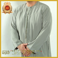 Hot sale Islamic Clothing, Long Saudi Arab style thobe for men