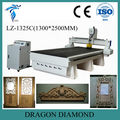 High Quality LZ-1325C Wood Door 3d CNC Carving Machine With Servo Motor