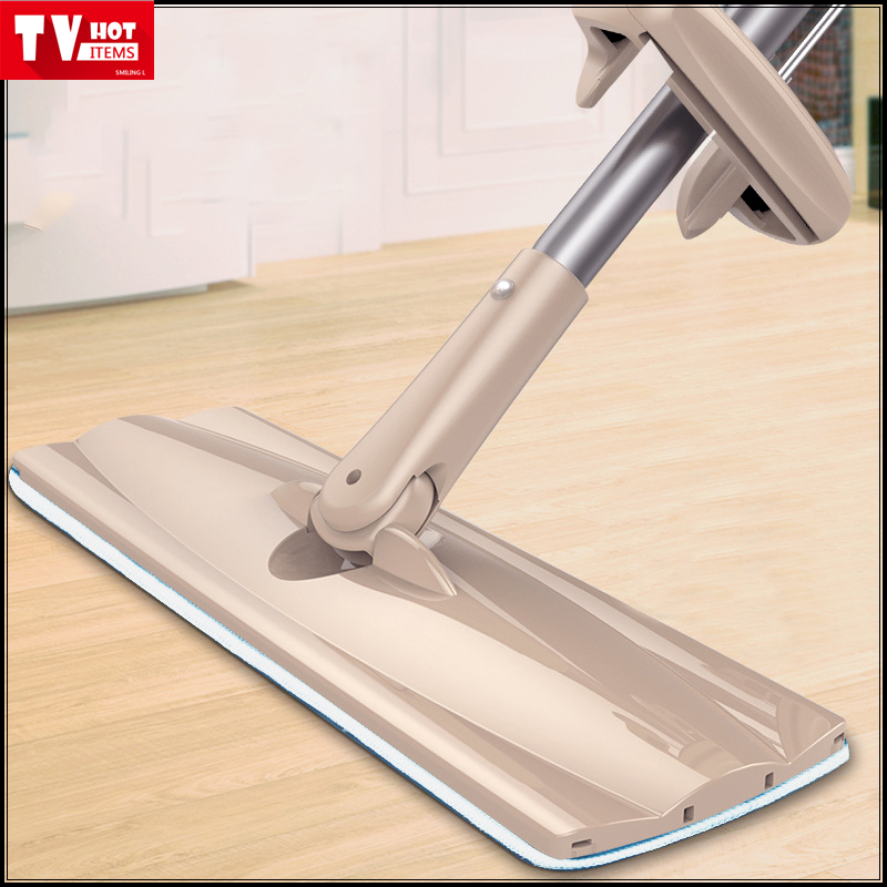AS SEEN ON TV flat lazy spin mop 360 degree house cleaning magic automatic wring out Microfiber mop