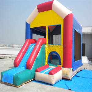 Super Attractive inflatable combo bouncer with slide for Home Party,inflatable jumping bounce house. K2059