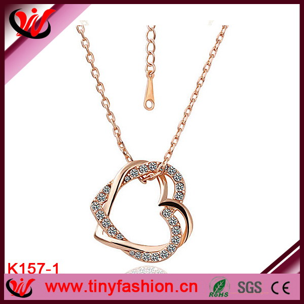 Design best-selling gold plated iron chain necklace