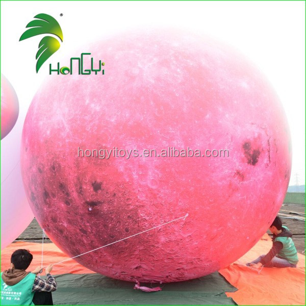 inflatable helium red moon (6)
