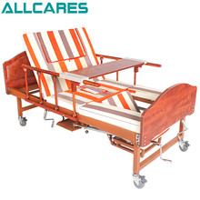 Luxurious top sale high quality multifuctional manual home care hospital bed