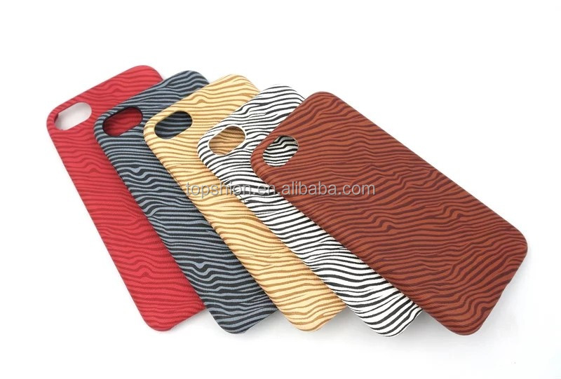 Wholesale China super slim leather case for iphone 7, for iphone 7 zebra leather texture case cover