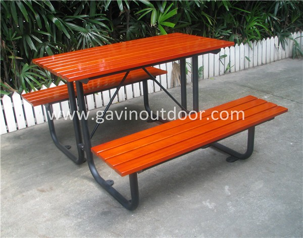 Akzo nobel powder coated metal outdoor picnic table set ada c 007a camphor 3 watchthetrailerfo