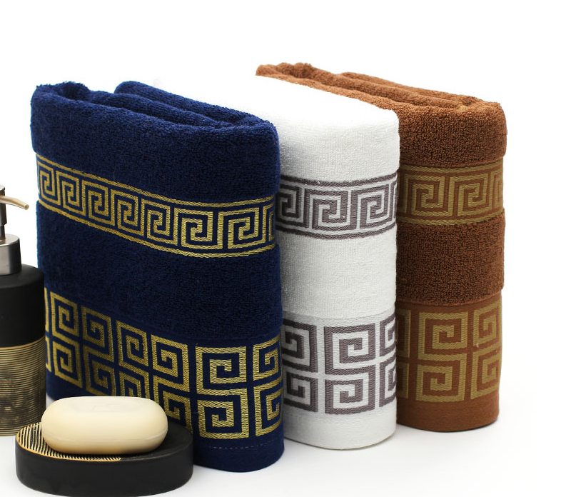 Good quality price egyptian 100% cotton bath towel