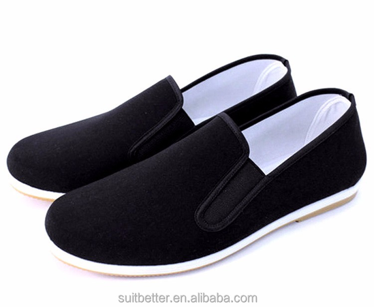 Men Kung fu shoes Slip-on shoes PVC injection shoes Made in China