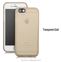 Transparent Decoractive Design Slim Armor Shockproof Case for iphone 6/6s Mobile Phone Case Armor