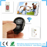 2014 Brand New! Bluetooth Remote Shutter for IOS/Android Mobile Phone, legoo Universal Bluetooth Shutter