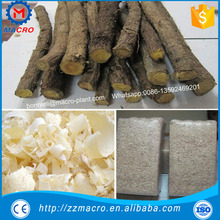 High output 4 knives electric wood shavings machine