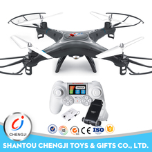 China 2.4 G rc 4axis professional drone quad copter drone with camera