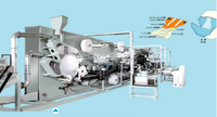 semi servo full auto manufacturing machine of adults pampers