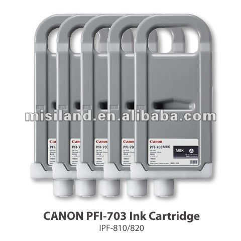 genuine Canon pfi-703 ink cartridge for ipf 810/820/815/825