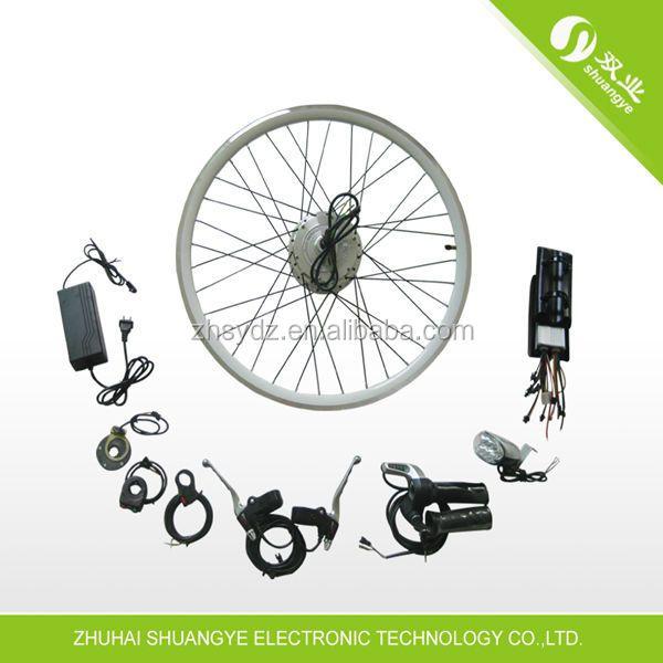 shuangye 36v 250w billige elektrische fahrrad umbausatz. Black Bedroom Furniture Sets. Home Design Ideas