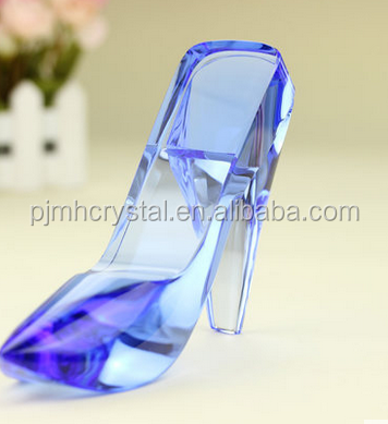 Light blue valentine gift Crafts shoes MH-G0180