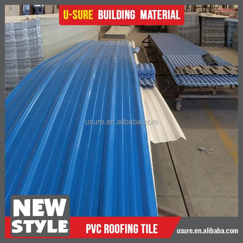 weather proof plastic upvc roofing sheet for roofing covering