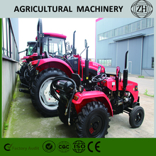 Customed 4x4 4WD 70 HP Wheel Farm Tractors With CE